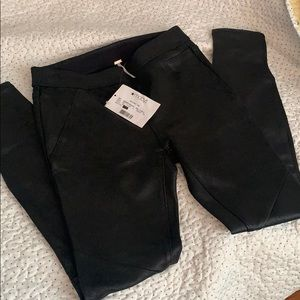 Free people pants stretchy sz 0